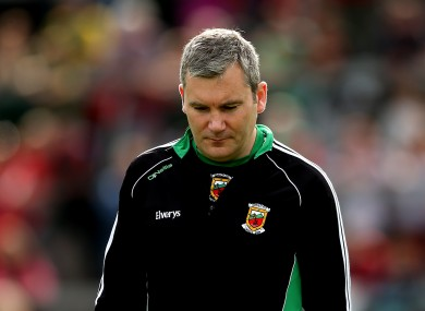 Horan was understandably dejected after another heartbreaking defeat at the Gaelic Grounds yesterday.