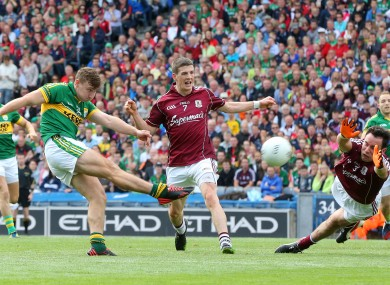 James O'Donoghue was in fine form for Kerry today.