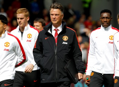 Van Gaal is still waiting for his first competitive victory as United manager.