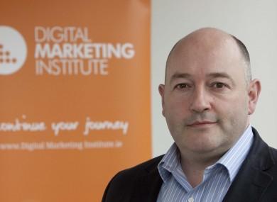 The Digital Marketing Institute's Ian Dodson.