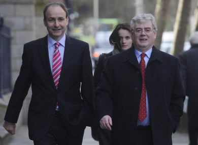Eamon Gilmore didn't survive as Labour leader in the aftermath of the May elections. (File photo)