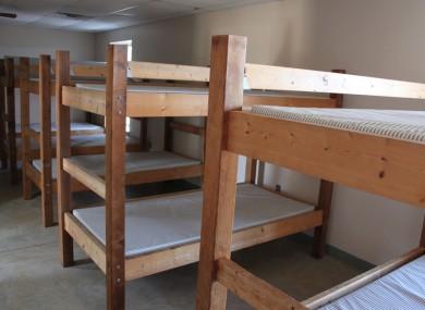 Child detention (staged photo).