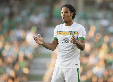 Celtic's Virgil Van Dijk.