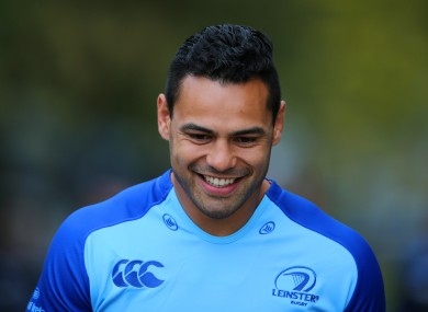 Te'o arrived in Ireland after winning the NRL with the South Sydney Rabbitohs.