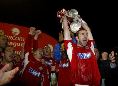 In 2006 it was Shelbourne who claimed the trophy on the final day.