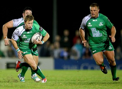 Kieran Marmion and Nathan White look set to see game for Ireland in November.