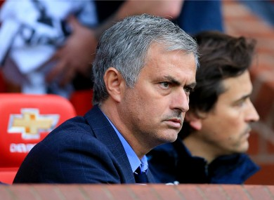 Chelsea manager Jose Mourinho has a reputation for setting teams up in a cautious manner.