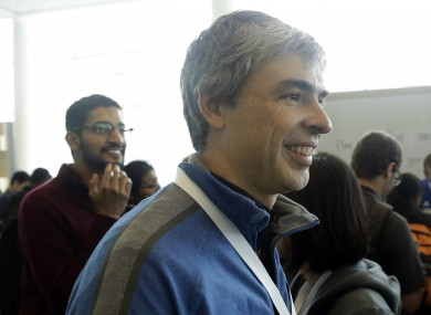 Google CEO and co-founder Larry Page said his family's foundation is contributing $15 million to the cause.