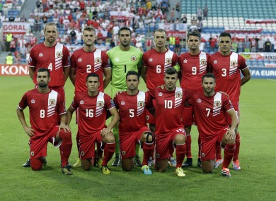 Gibraltar are preparing for the biggest game in their history.