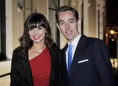 The pair pictured at the launch of Tubridy's book about JFK.