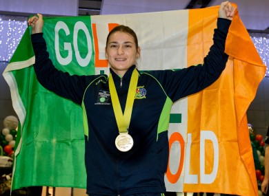 Katie Taylor won gold at the AIBA World Women's Elite Championships earlier this year.