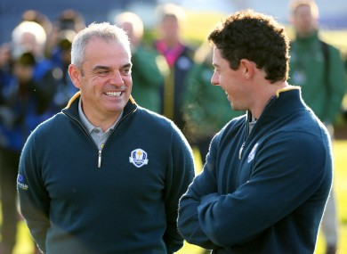 McGinley and McIlroy look set to lead Ireland's medal challenge on the course in Rio.