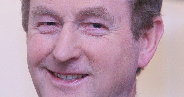 Who has confidence in Enda Kenny?