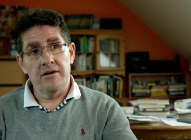 Kimmage: split with O'Driscoll earlier this year (file photo).