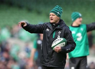 Schmidt will reduce the size of his Ireland squad over the weekend.