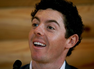 McIlroy is looking forward to an important 12 months ahead.