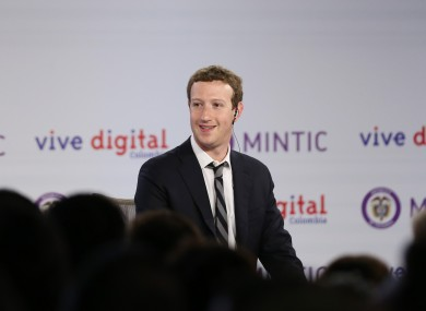 Facebook CEO Mark Zuckerberg has been traveling to places like Colombia last month to launch the company's Internet.org app.