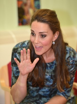 Kate Middleton is due to give birth to her second child in April.