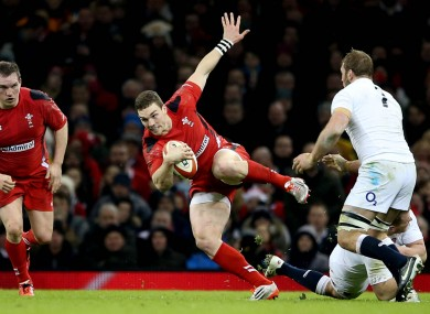 North is back in the Wales starting XV.