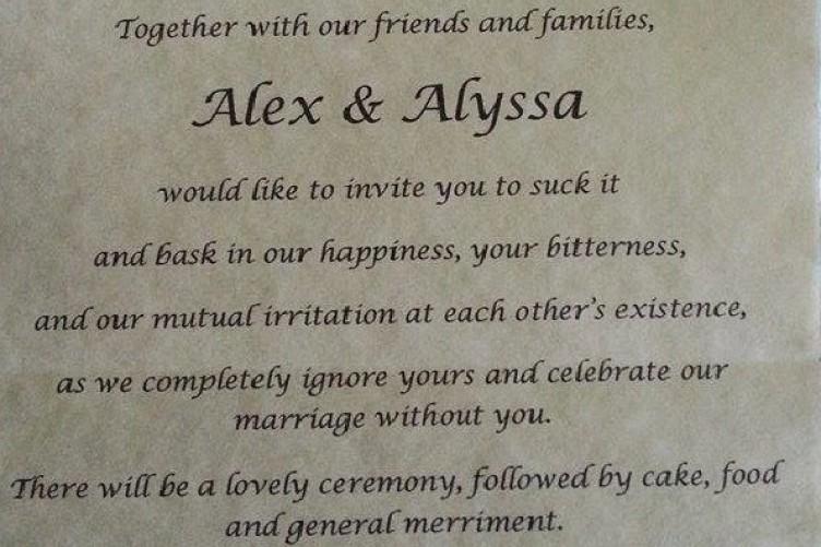 Bride gets revenge on her 'narcissistic' parents with super