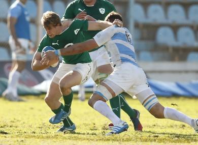 Trimble's last Irish cap came against Argentina in June 2014.