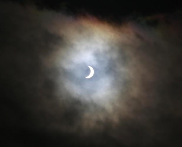 Eclipse in Dublin