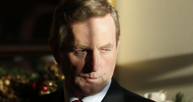 Did Enda Kenny sack the Garda Commissioner?