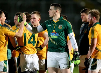 Celebration for Meath's Paddy O'Rourke tonight.