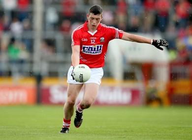 Sean O'Donoghue was amongst Cork's goalscorers tonight.