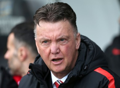 Manchester United manager Louis van Gaal has played down the importance of winning the FA Cup.