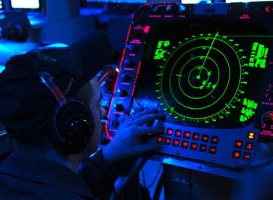 File photo of a radar system.