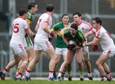 Kerry and Tyrone face off in Omagh on Sunday.