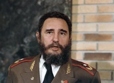 Castro in his pomp.