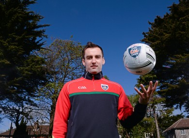 Karl Lacey at the launch yesterday of the 2015 GAA Cúl Camps.