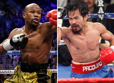 Floyd Mayweather will come out of next month's fight the richer of the two men.