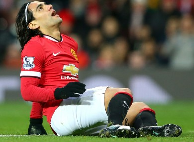 Manchester United striker Radamel Falcao has not had the best of seasons in the Premier League.