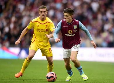 Grealish was involved in both Villa goals at Wembley.