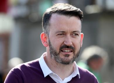 Former Cork hurling goalkeeper Donal Óg Cusack.