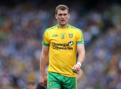 Donegal footballer Eamonn McGee.