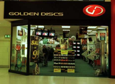 The Golden Discs store in the Jervis Shopping Centre, Dublin