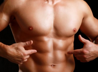 You won't get abs like this overnight.