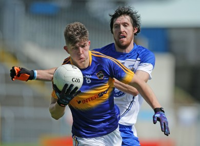 Tipperary's Steven O'Brien and Waterford's Tommy Prendergast.