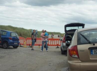 The scene on Bull Island last summer.