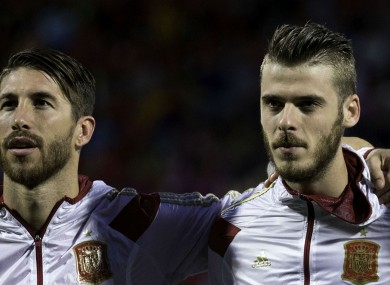 David de Gea and Sergio Ramos have been linked with a move away from their respective clubs.