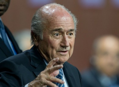 FIFA president Sepp Blatter has indicated he could stand for a sixth term.