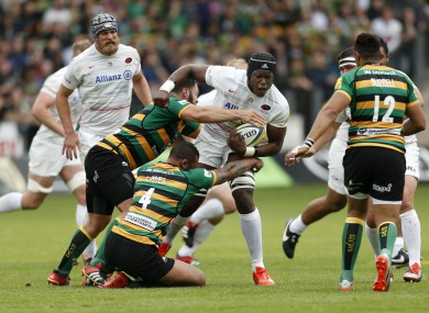 20-year-old Itoje has yet to win a senior cap.