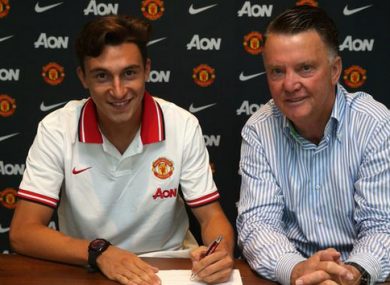 Darmian will bolster the defensive ranks at Old Trafford.