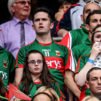 Mayo fans had their hearts in their mouths during the final moments.