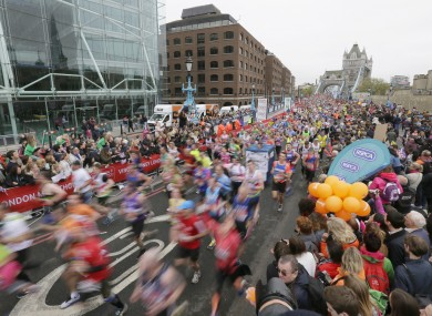 It also reported that 32 winners of major city marathons should have faced investigation.