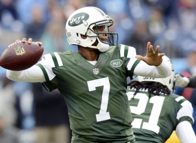 Geno Smith will miss the start of the season with a broken jaw.